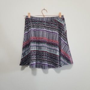 Mossimo circle mini skirt (c)